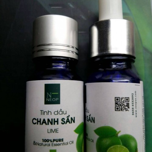 Tinh Dầu Chanh Sần - Lime Essential Oil